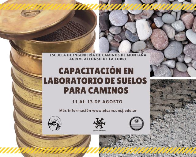 Curso de Posgrado Capacitación en Laboratorio suelos