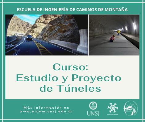 Curso Estudio y Proyecto de Túneles