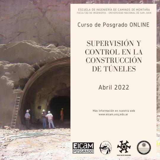 Supervisión y Control en Construcción de Túneles