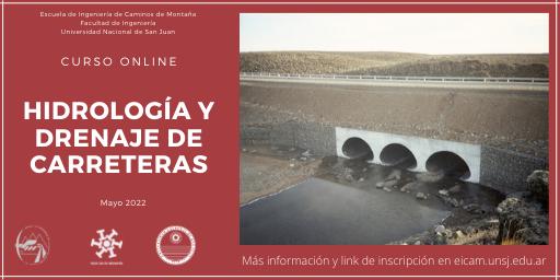 Curso de Hidrología y Drenaje de Carreteras